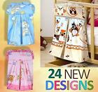New Baby Nappy Diaper Bag Stacker Around the Nursery Crib Cot Cot Bed