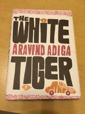 The White Tiger by Aravind Adiga  1st edition First Impression Unclipped DW