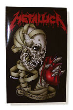 "METALLICA ""HEART EXPLOSIVE"" PUSHEAD BLACK POSTER NEW SEALED OFFICIAL 22"" X 34"""