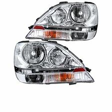 FLEETWOOD STORM 2012 2013 2014 PAIR HEADLIGHTS HEAD LIGHTS FRONT LAMPS RV