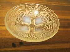 Stunning 1924 Rene Lalique Coquilles Seashell bowl - opalescent glass hand signe