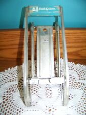 MAID OF HONOR vintage antique potato cutter french fry press metal made Holland