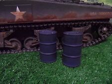 1/16 SCALE R/C TANK GERMAN  FUEL BARREL X2