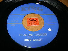 BOYD BENNETT - HEAR ME TALKING - TEENAGE YEARS   / LISTEN - RNB  POPCORN