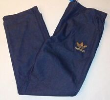 ADIDAS ORIGINALS  TRE-FOIL TP DENIUM blue SWEAT PANTS MENS 3XL XXXL