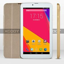 "XGODY 7"" Tablet PC Unlocked 3G/2G Smart Phablet Android4.4 GPS WiFi Bluetooth HD"
