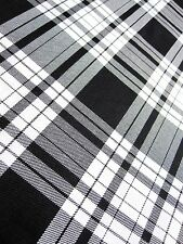 """TARTAN FABRIC MATERIAL BY THE HALF METRE 58"""" WIDE 24 HOUR DISPATCH"""
