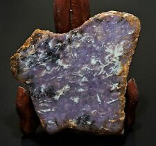Lavender Purple Lepidolite Slab Rough Cabochon Specimen Jewelry from California