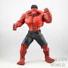 "New Marvel The Avengers Hero Red HULK 10"" 26cm big pvc action figure Toy Gift"