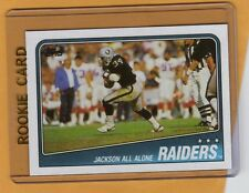 1988 TOPPS BO JACKSON ROOKIE RC CARD RAIDERS MINT!