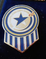 1996 Atlanta Paralympic Games Olympic Blue White and Gold Pin New