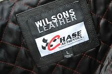Vintage Wilsons Chase Leather #8 Dale Earnhardt Jr. Bud NASCAR Jacket NWOT Large