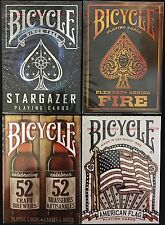 Bicycle Playing Cards 2017 Q1 New Releases 4 Deck Set Poker Size USPCC Custom