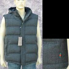 GUCCI New sz 54 - 44 Designer Mens Thick Goose Dawn Web Puffer Jacket Vest xxl