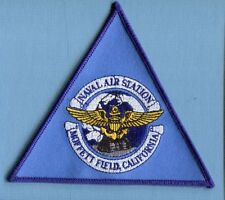 NAS NAVAL AIR STATION MOFFETT FIELD US NAVY Base Squadron Jacket patch