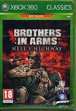 Brothers in Arms Hell's Highway Xbox 360 Brand New Factory Sealed