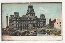 Canada, Montreal, City Hall & Jacques Cartier Market Postcard, B249