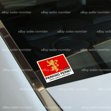 kings landing house of lannister  parking permit  decal sticker game of thrones