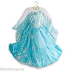 NEW DISNEY STORE Frozen DELUXE ELSA COSTUME DRESS Gown 4 5/6 7/8 Limited Edition