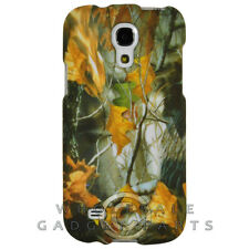 Samsung Galaxy S4 Mini Shield Camo Dry Leaves WFL026 Cover Shell Protector Case