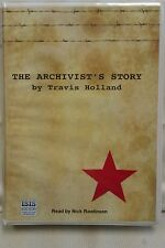 The Archivist's Story by Travis Holland: Unabridged Cassette Audiobook (M2)