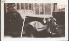 Unusual Vintage Photo 1938 DeSoto Car Wreck on Camera Lens 728165