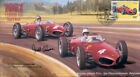 1961a FERRARI 156 (Shark Nose), SPA-FRANCORCHAMPS F1 cover signed GERRY ASHMORE