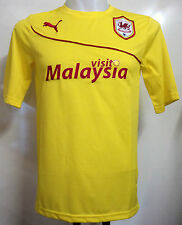 CARDIFF CITY 2013/14 AWAY SHIRT BY PUMA ADULTS SIZE LARGE BRAND NEW WITH TAGS