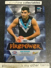 2014 AFL SELECT CHAMPIPONS FIREPOWER MIRROR FM22 CHAD WINGARD
