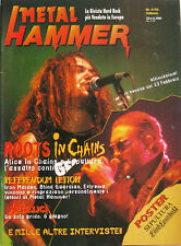 METAL HAMMER 2 1996 Alice In Chains Sepultura Ministry Machine Head Down By Law