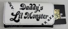 DC Comics Suicide Squad Harley Quinn Daddy's Little Monster Flap Wallet Clutch