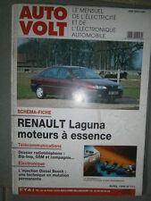 Renault LAGUNA 1 essence 1.8 - 2.0 - 3.0 V6 : Revue technique Autovolt 711