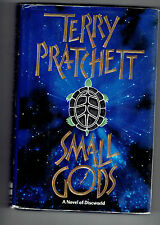 TERRY PRATCHETT  hcdj Small Gods : A Discworld Novel  us edition