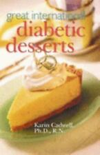 Great International Diabetic Desserts-ExLibrary