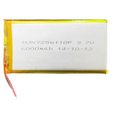 3.7V 6000mAh Li-Po Polymer Rechargeable Battery For Power Bank Tablet PC 7256110
