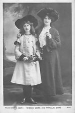 BR74451 misses zena and phyllis dare edwardian  actor real photo   uk