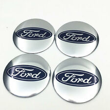 "4x 56mm 2.2"" Car Auto Wheel Center Hub Cap Emblem Badge Decal Sticker For Ford"