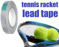 "Tennis Racket Lead Tape 100"" x 1/2"" Sticky Back Racquet Weight IMPROVE YOUR GAME"