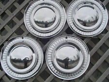 1956 56 PLYMOUTH FURY BELVEDERE SATELLITE  HUBCAPS WHEEL COVERS CENTER CAPS