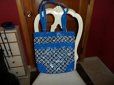 Vera Bradley Everything Nice Tote in Blue Lagoon Frill