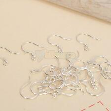 Wholesale 50 Pcs 625 Sterling Silver French Earring Ear Wire Finding Hooks