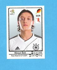 PANINI-EURO 2012-Figurina n.241- OZIL - GERMANIA -NEW-WHITE BOARD