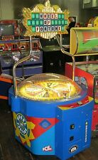 ICE WHEEL OF FORTUNE REDEMPTION TICKET SKILL STOP ARCADE GAME Shipping Available
