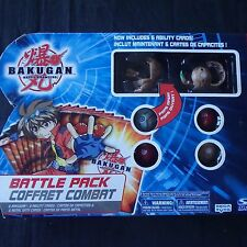 bakugan Battlepack Series 2 Juggernaut and Wormquake showing 4 more starter NEW