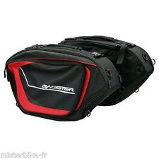 Sacoche Cavaliere Cruise Bagster Noir/rouge