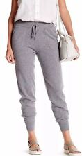 Womens Cynthia Rowley Cashmere Blend Sleep Lounge Jogger Pants Size L Grey NWT