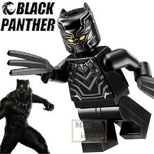 1pc Black Panther Minifigures Building Blocks Toy Avengers Custom Lego #264