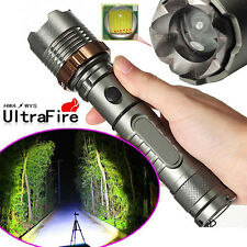 3000LM CREE XM-L XML T6 LED Zoomable Focus 18650 Flashlight Torch Lamp Light