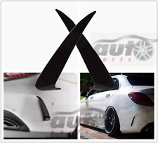 C63 Style Bumper Apron Spoiler Canard/Air Vent Cover Trim For Benz W205 C Sport