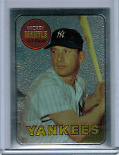 1996 Topps Mantle Finest MICKEY MANTLE #19 (1969 Topps)  (1363)